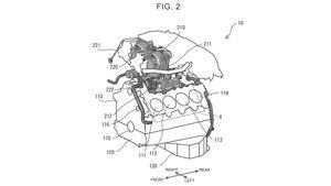 Toyota Patent V8-Biturbo-Motor