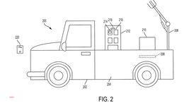 Toyota Patentzeichnungen autonomes Lieferfahrzeug USA