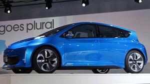 Toyota Prius C Concept, Detroit Motor Show