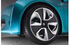 Toyota Prius C Concept, Felge