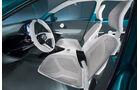 Toyota Prius C Concept, Lenkrad, Cockpit