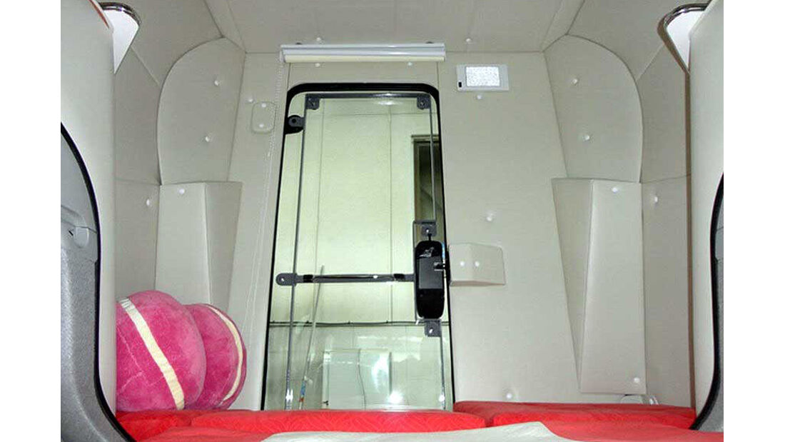 Toyota Prius Camper Van, Innenraum