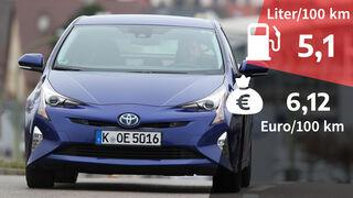 Toyota Prius Comfort Realverbrauch