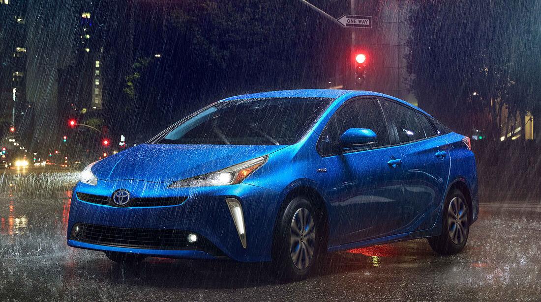 Toyota Prius Facelift 2019