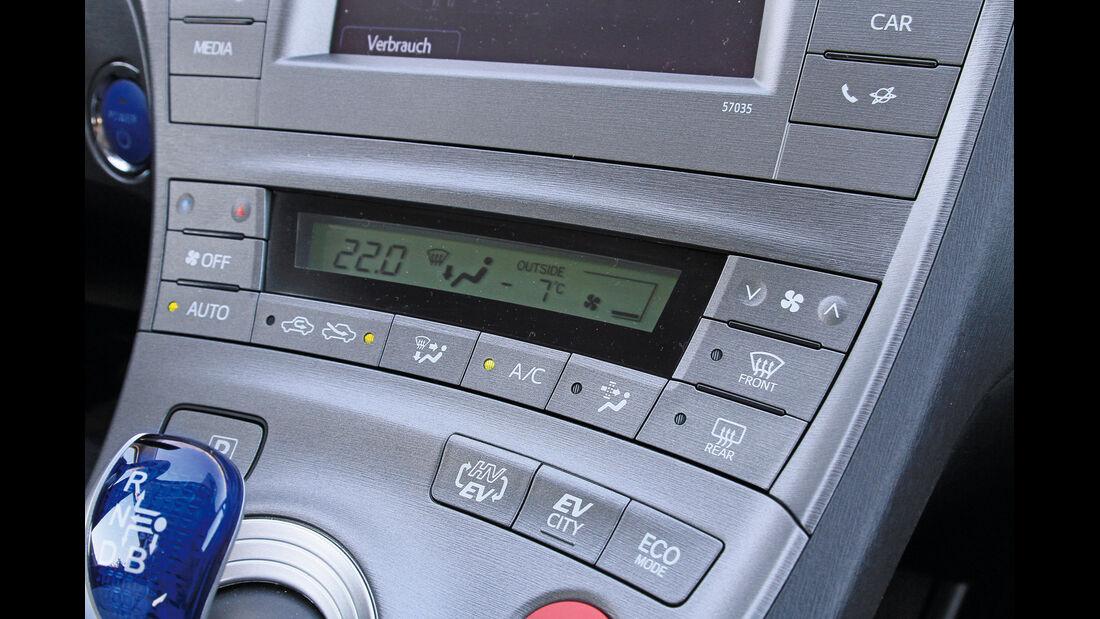 Toyota Prius, Heizung