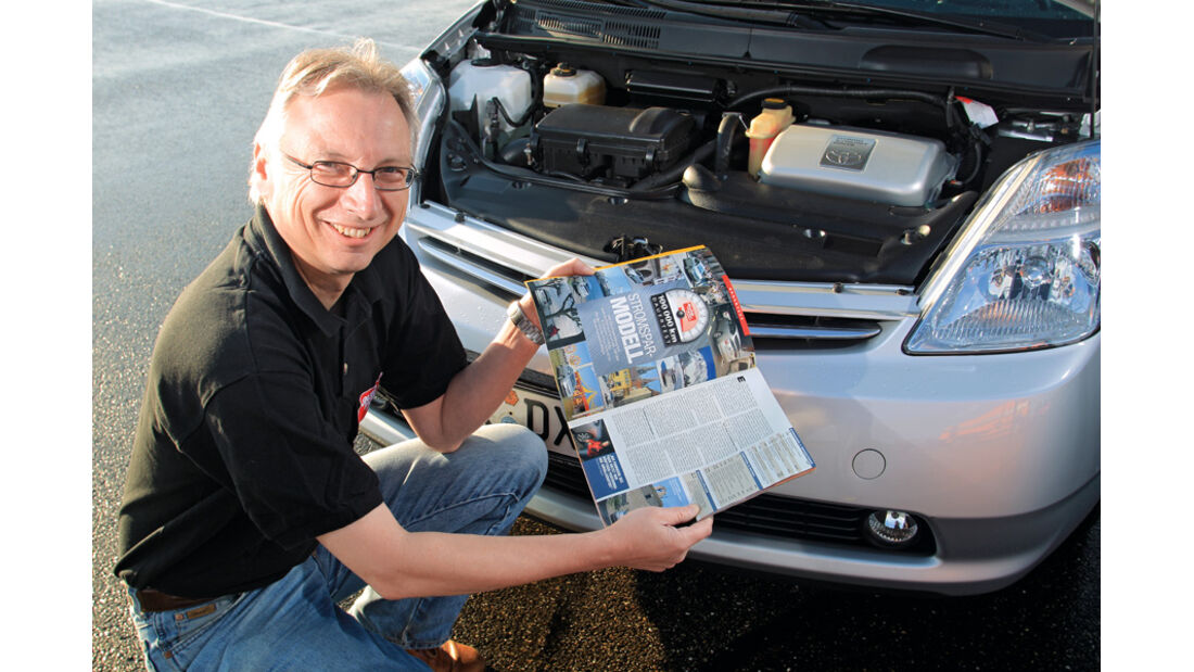 Toyota Prius II, Bernd Stegemann, Porträt