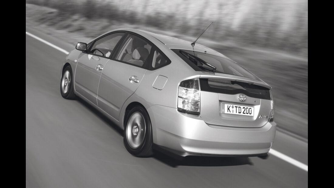 Toyota Prius II, Rückansicht, Heck
