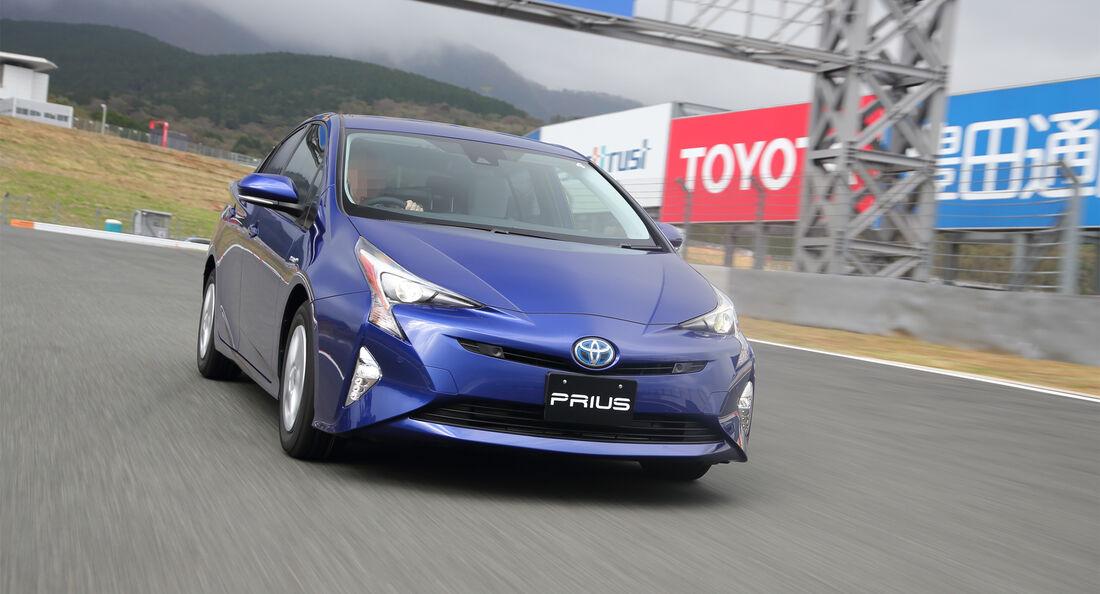 Toyota Prius III, Fahrbericht, 11/15