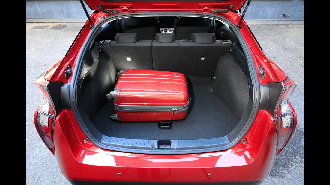 Toyota Prius, Kofferraum
