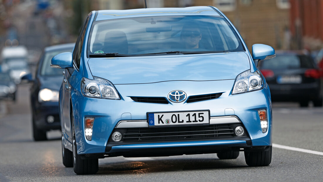 Toyota Prius Plug-In Hybrid, Frontansicht