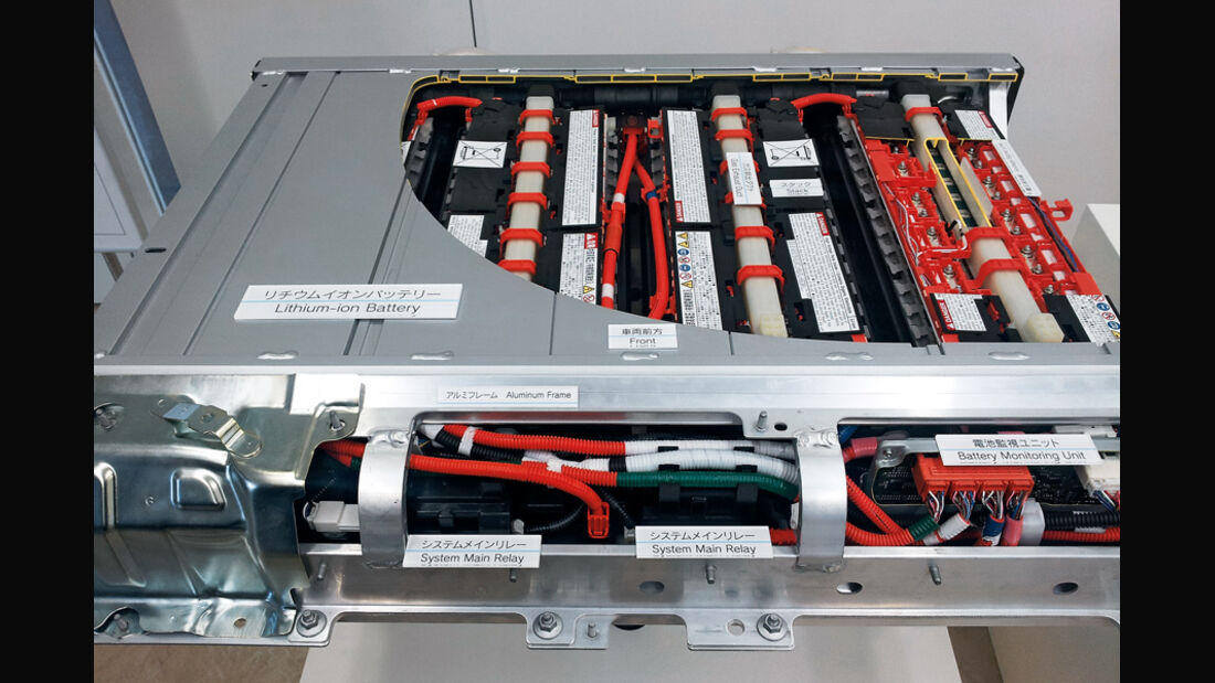 Toyota Prius Plug-in, Batterie