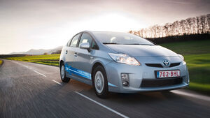 Toyota Prius Plug-in, Frontansicht