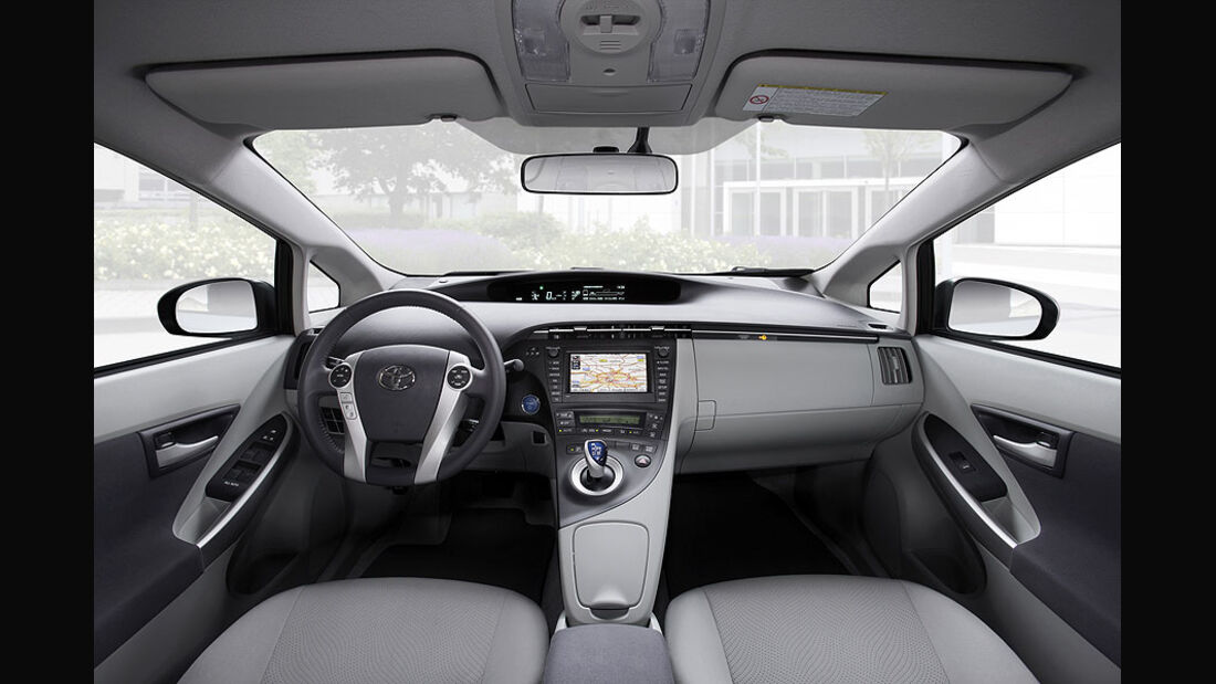 Toyota Prius Plug-in Hybrid Innenraum