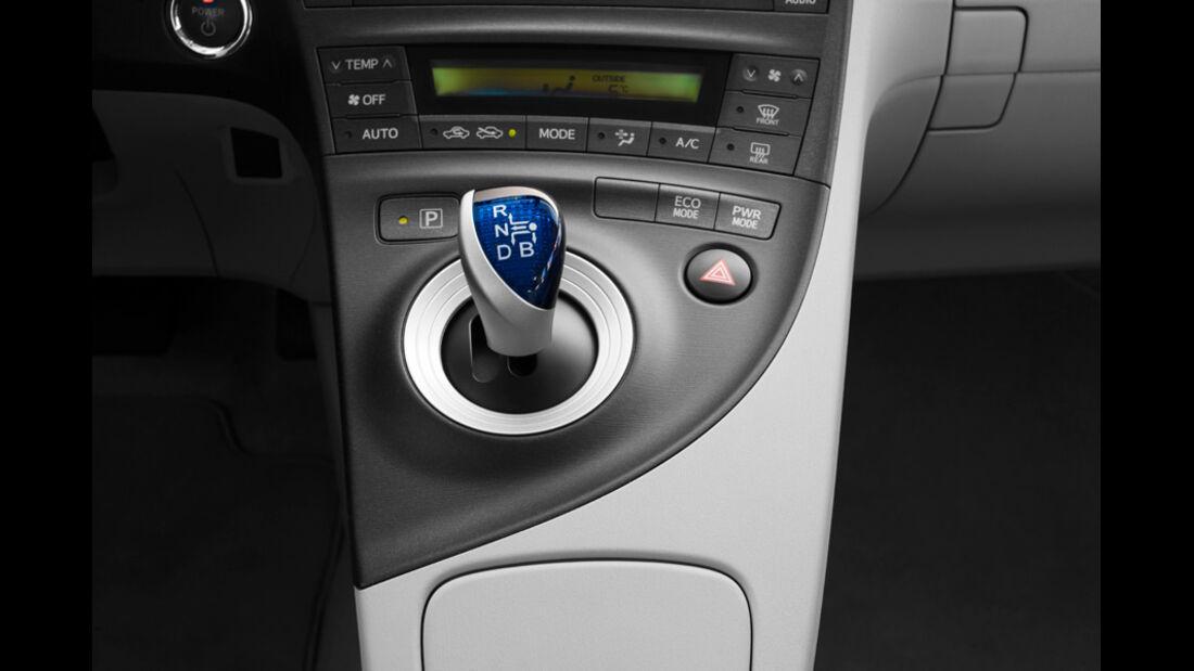 Toyota Prius Plug-in Hybrid, Schaltknauf