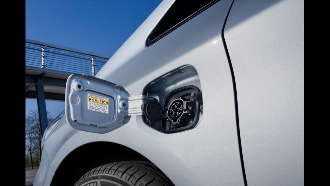 Toyota Prius Plug-in Hybrid, Tankstutzen