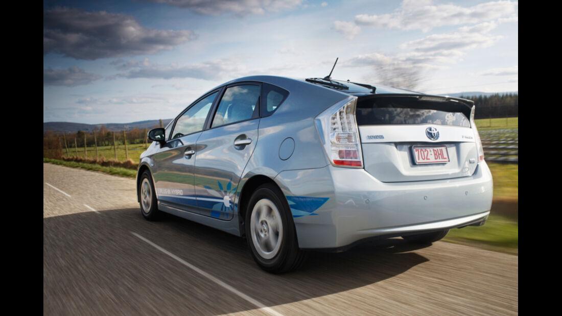 Toyota Prius Plug-in, Rückansicht