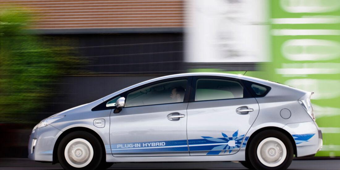 Toyota Prius Plug-in, Seitenansicht