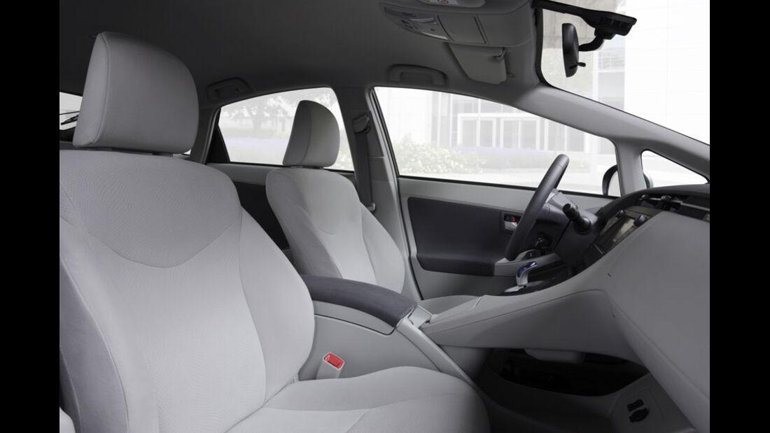 Toyota Prius Plugin, Sitze