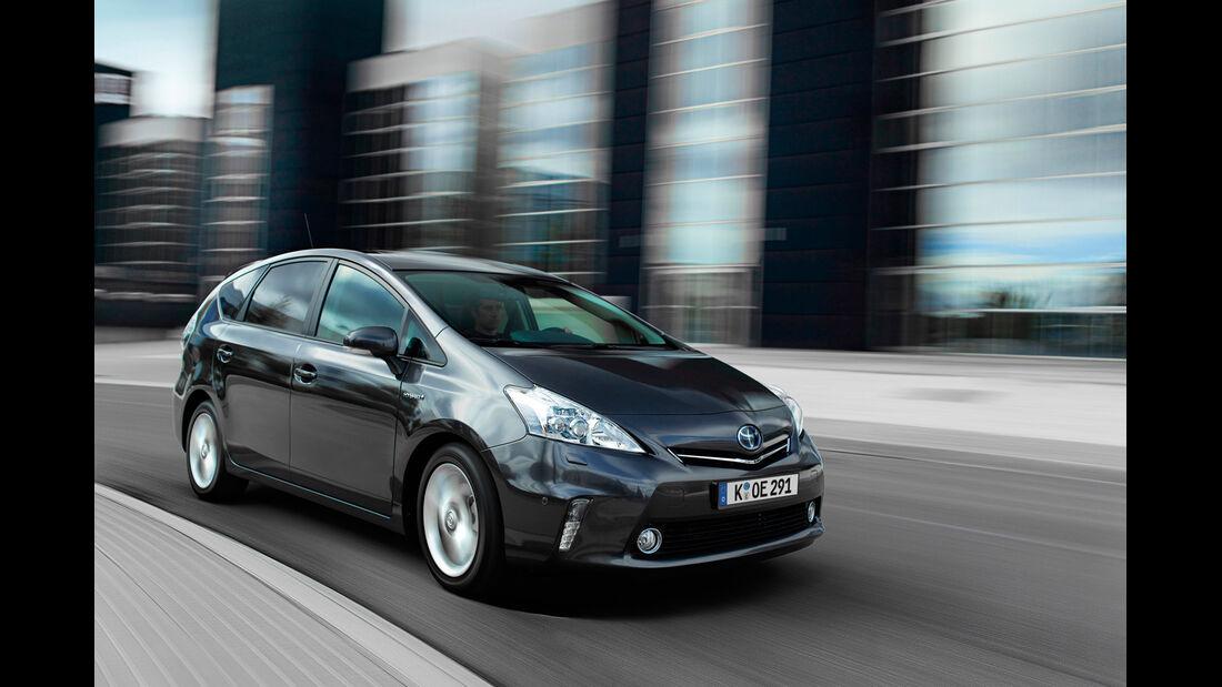 Toyota Prius Plus, Frontansicht