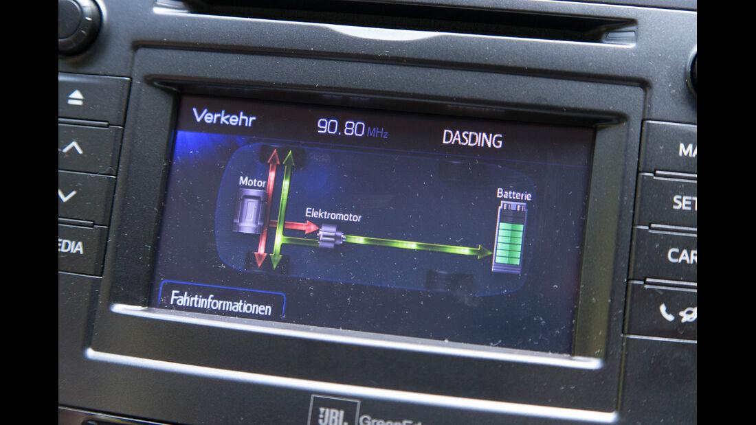 Toyota Prius Plus Life, Display
