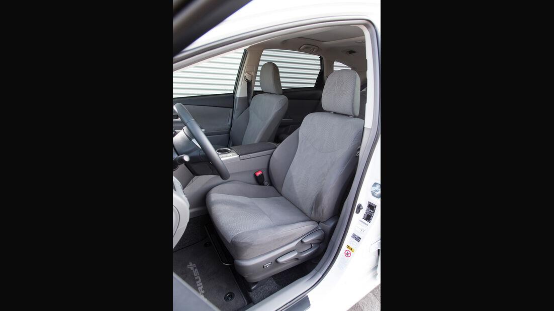Toyota Prius Plus Life, Fahrersitz