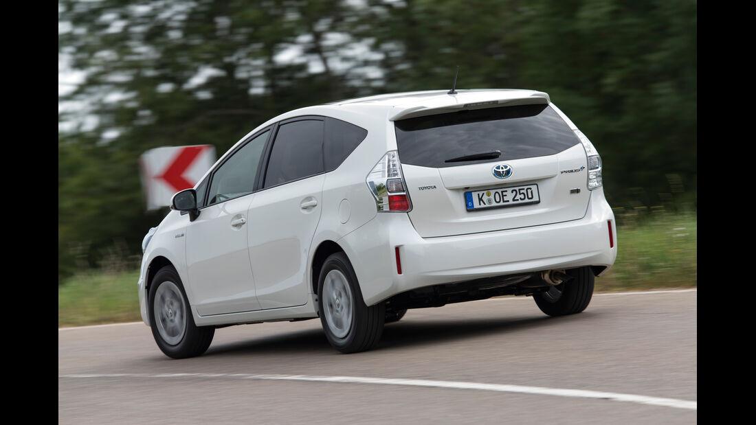 Toyota Prius Plus Life, Heckansicht