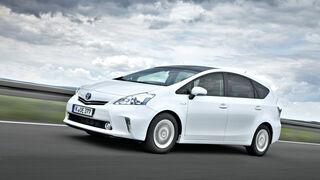 Toyota Prius Plus, Seitenansicht