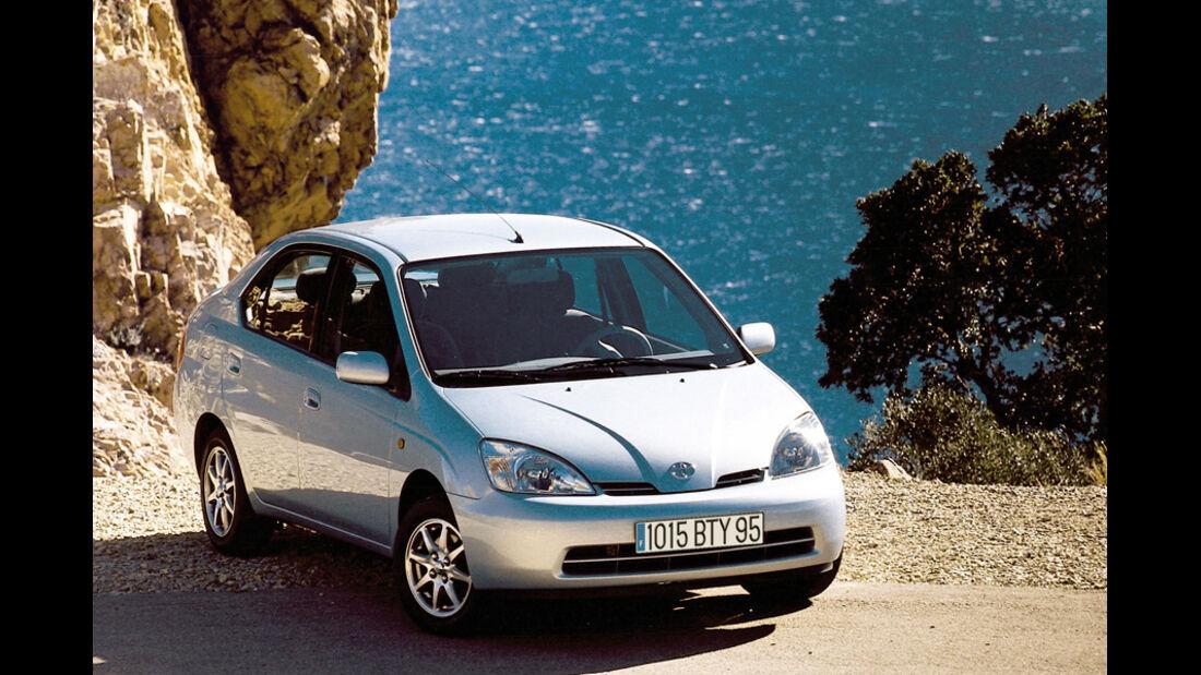 Toyota Prius, Seitenansicht, 1997