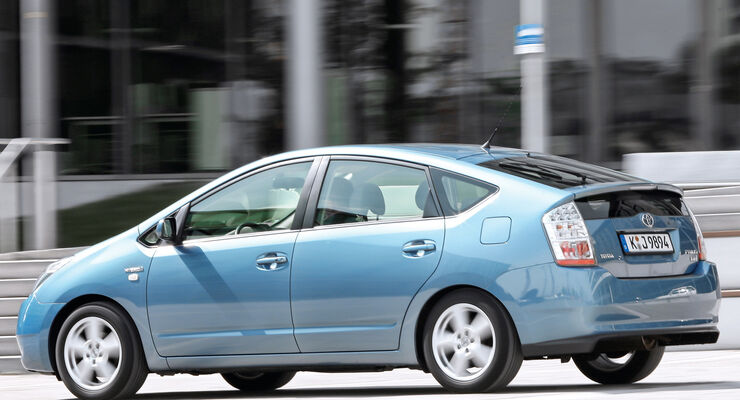 Toyota Prius, Seitenansicht