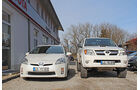 Toyota Prius und Hilux