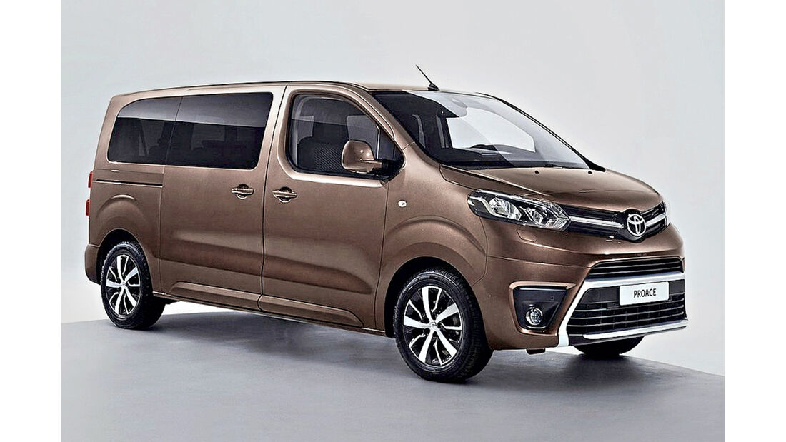 Toyota Proace Verso, Best Cars 2020, Kategorie L Vans