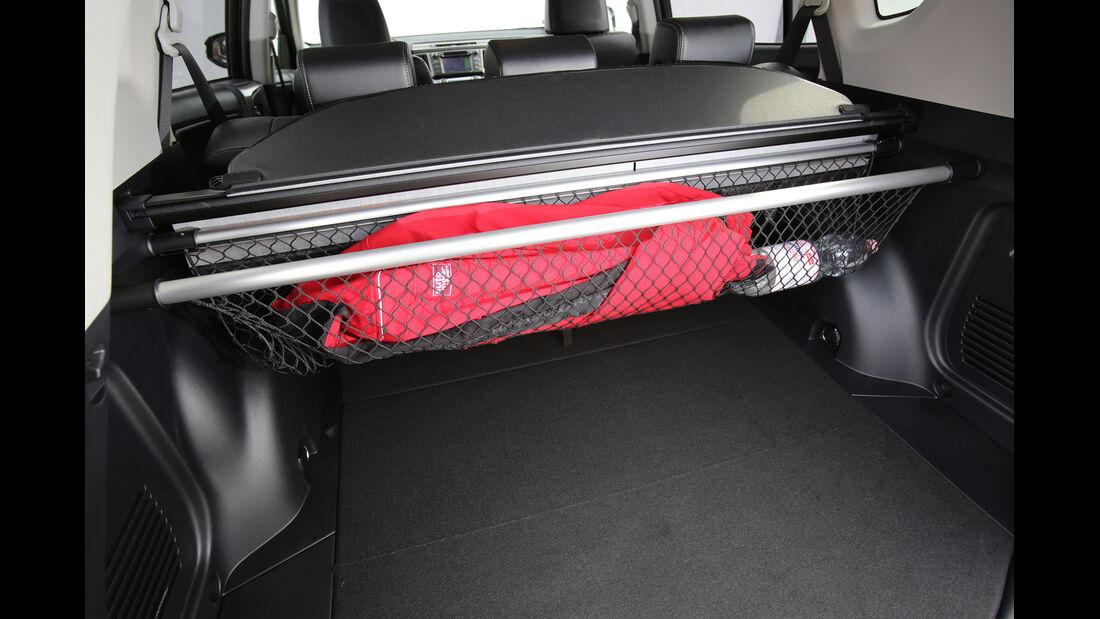 Toyota RAV4 2.0 D-4D, Kofferraum, Haltenetz