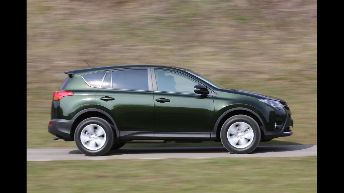 Toyota RAV4 2.0 D-4D, Seitenansicht