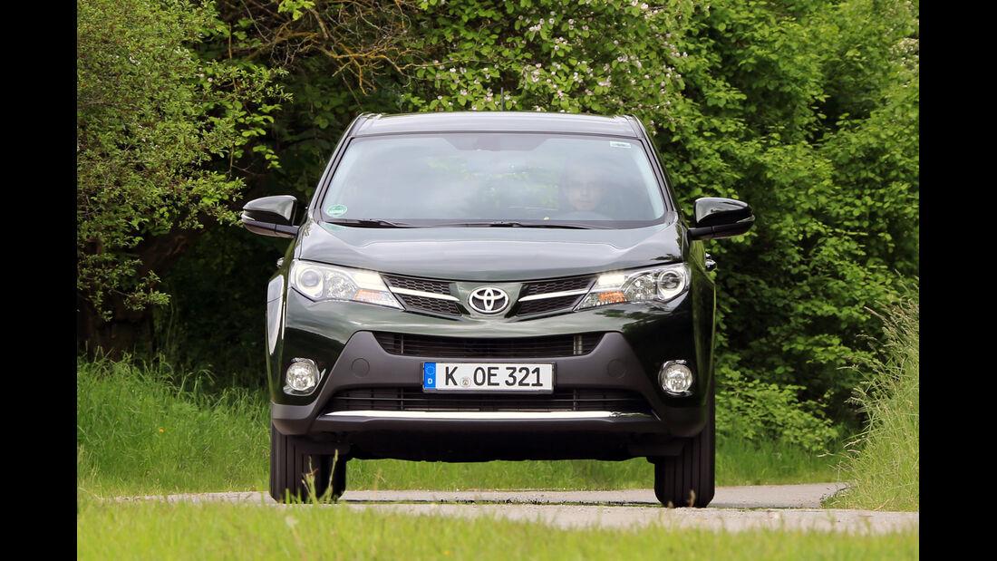 Toyota RAV4 2.2 D-4D AWD Life, Frontansicht