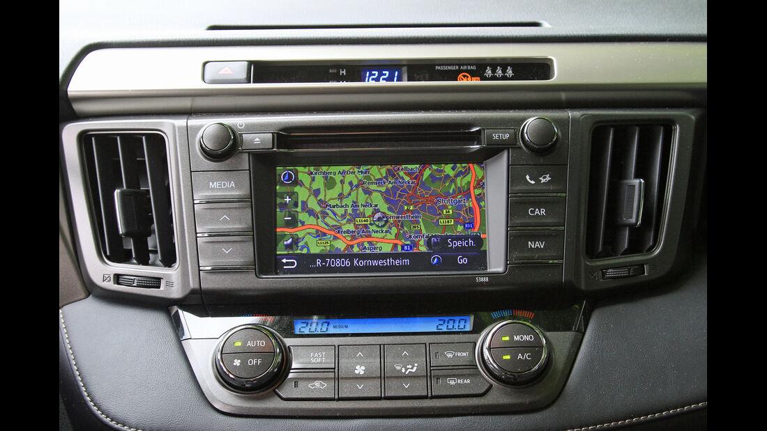 Toyota RAV4 2.2 D-4D AWD Life, Navi, Bildschirm