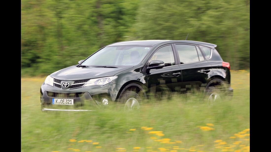 Toyota RAV4 2.2 D-4D AWD Life, Seitenansicht