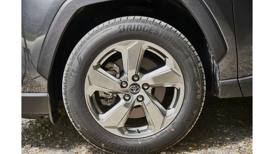 Toyota RAV4 2.5 Hybrid, Exterieur