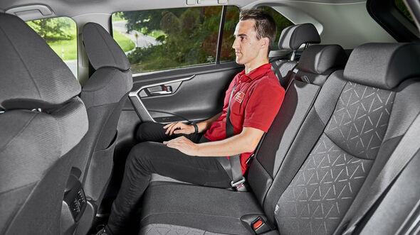 Toyota RAV4 2.5 Hybrid, Interieur