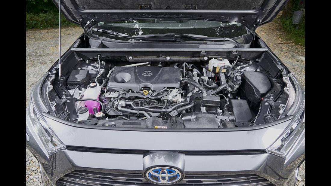 Toyota RAV4 2.5 Hybrid,Motorraum
