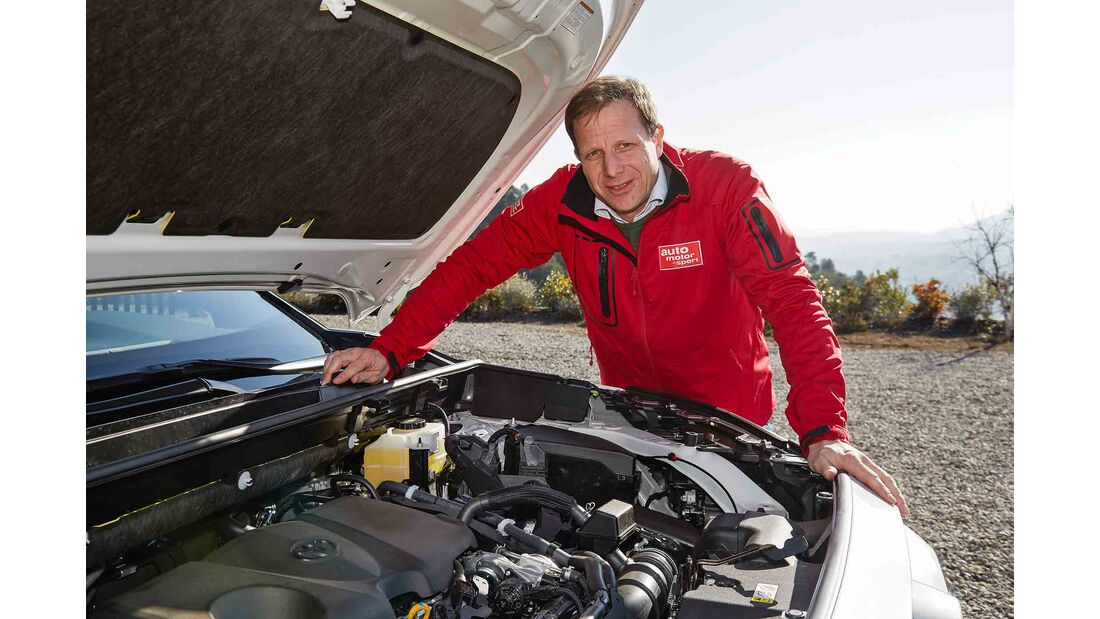 Toyota RAV4 4x4 Hybrid, Fahrbericht, motor