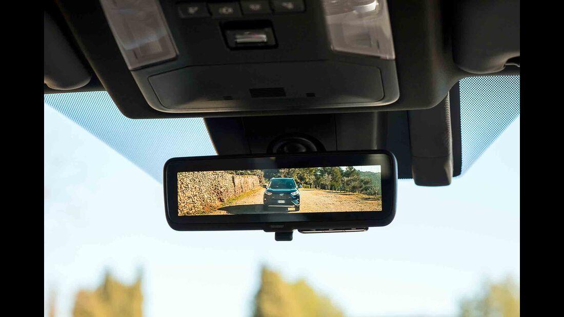 Toyota RAV4 4x4 Hybrid, Fahrbericht, rückspiegel