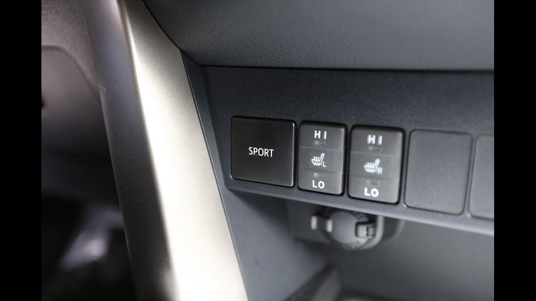 Toyota RAV4, Bedienelemente