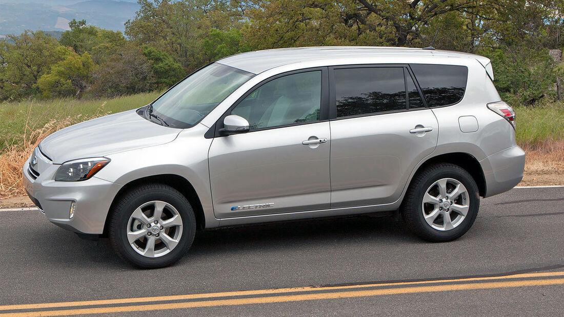 Toyota RAV4 EV Elektro-SUV