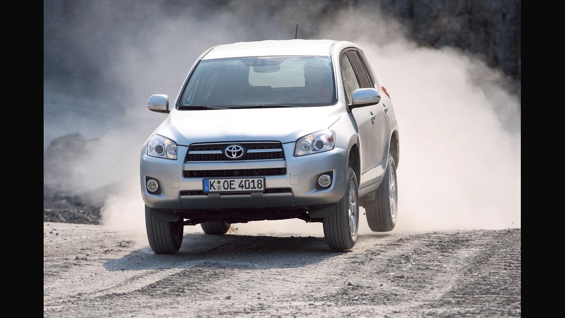 Toyota RAV4, Frontansicht