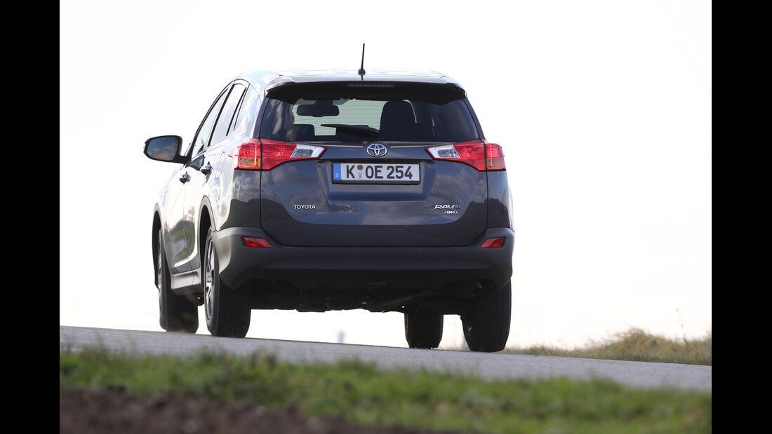 Toyota RAV4, Heckansicht