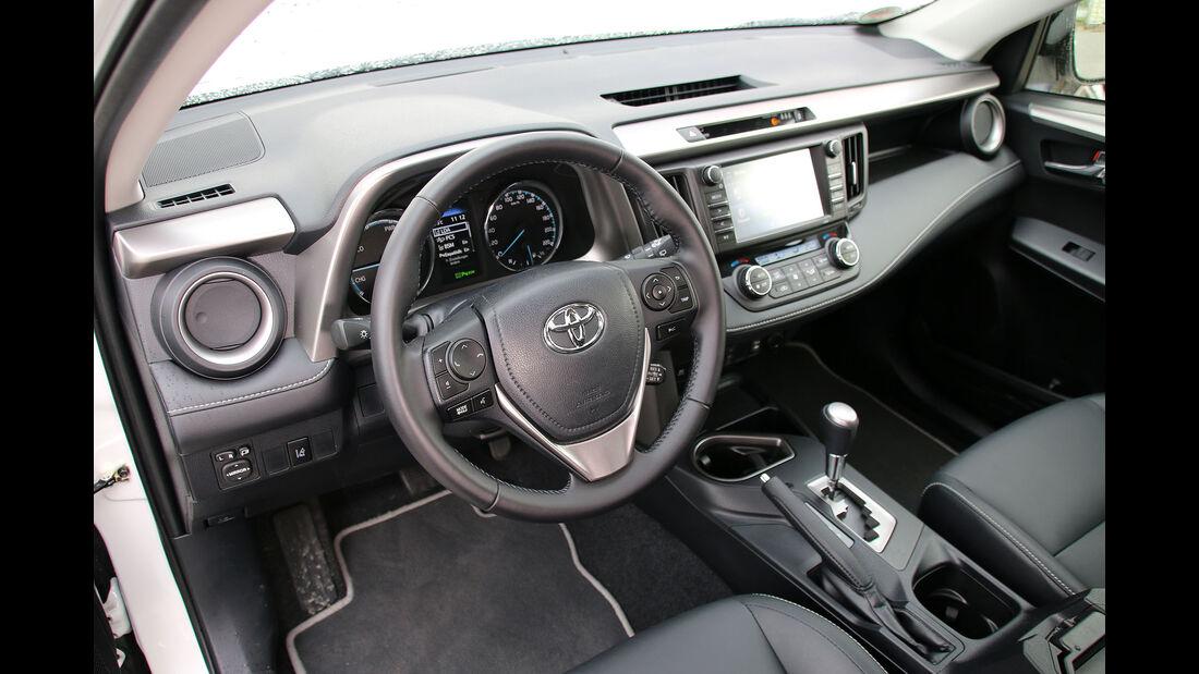 Toyota RAV4 Hybrid Einzeltest