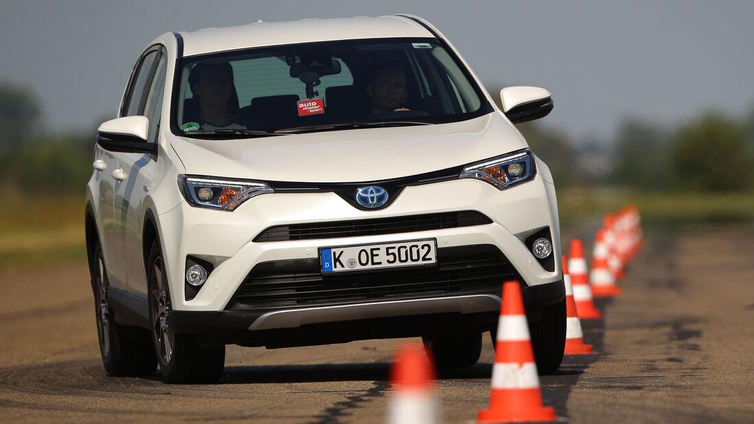 Toyota RAV4 Hybrid, Frontansicht