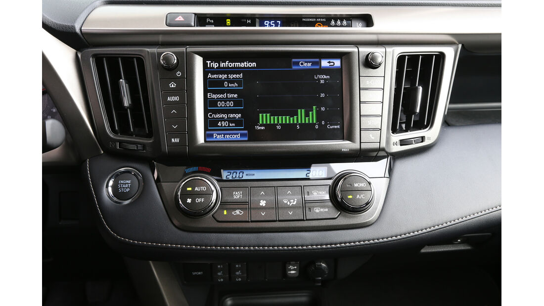 Toyota RAV4, Infotainment, Radio