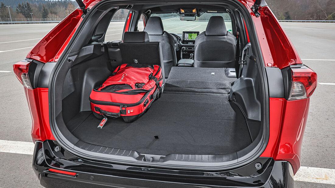 Toyota RAV4, Interieur