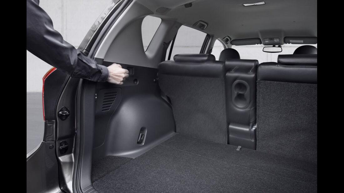 Toyota RAV4, Kofferraum